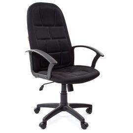 Компьютерное кресло для руководителя Chairman 737 Черный, Цвет товара: Черный