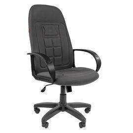 Компьютерное кресло для руководителя Chairman 727 CT Серый, Цвет товара: Серый