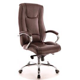 Компьютерное кресло для руководителя Everprof King M кожа коричневый, Цвет товара: Коричневый