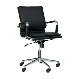 Компьютерное кресло Everprof Nerey LB T Черная экокожа, Цвет товара: Черный