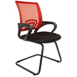 Офисное кресло для посетителей Chairman 696 V Красная сетка