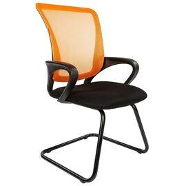 Офисное кресло для посетителей Chairman CH 969 V Ткань/сетка TW (оранжевый) 580x560x990, Цвет товара: Оранжевый