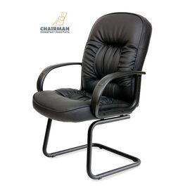 Офисное кресло для посетителей Chairman CH 416 V, Цвет товара: Черный