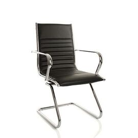 Офисное кресло для посетителей Team Vi (C2W), Цвет товара: Черный