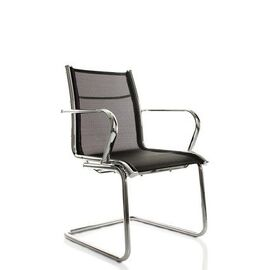 Офисное кресло для посетителей Line-M Vi (C2W), Цвет товара: Черный