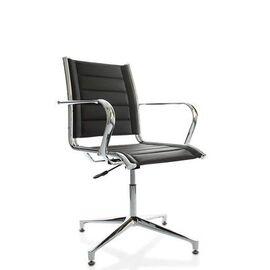 Офисное кресло для посетителей Line Vi base (C2W), Цвет товара: Черный