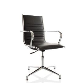 Офисное кресло для посетителей Team Vi base (C2W), Цвет товара: Черный