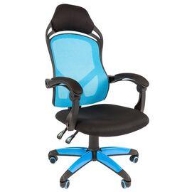 Кресло для геймеров Chairman Game 12 Голубое, Цвет товара: Голубой