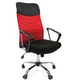 Компьютерное кресло для руководителя Chairman 610 Красный, Цвет товара: Красный
