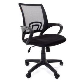 Компьютерное кресло Chairman CH 696 TW-01 черный, Цвет товара: Черный