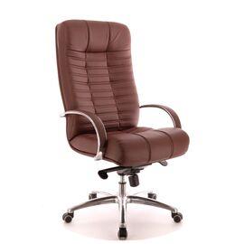 Компьютерное кресло для руководителя Everprof Atlant AL M кожа коричневый, Цвет товара: Коричневый