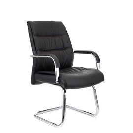 Кресло-конференц Everprof Bond CF Экокожа Черный, Цвет товара: Чёрный