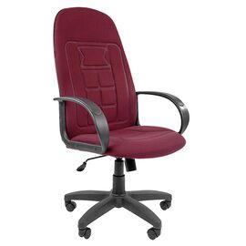 Компьютерное кресло для руководителя Chairman 727 CT Бордовый, Цвет товара: бордовый