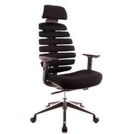 Компьютерное кресло для руководителя Everprof Ergo Black ткань черный