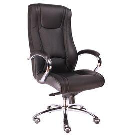 Компьютерное кресло для руководителя Everprof King M кожа черный, Цвет товара: Черный