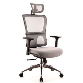 Компьютерное кресло для руководителя Everprof Everest S сетка серый, Цвет товара: Серый