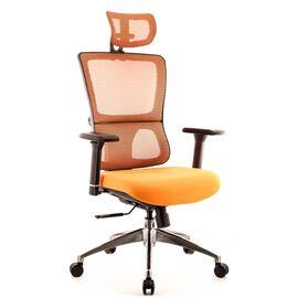 Компьютерное кресло для руководителя Everprof Everest S сетка оранжевый, Цвет товара: Оранжевый