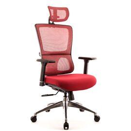 Компьютерное кресло для руководителя Everprof Everest S сетка бордовый, Цвет товара: бордовый