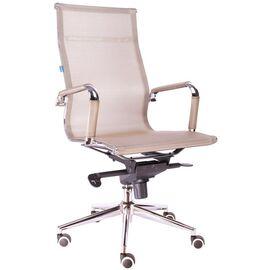 Компьютерное кресло для руководителя Everprof Opera M сетка золотой, Цвет товара: золотой
