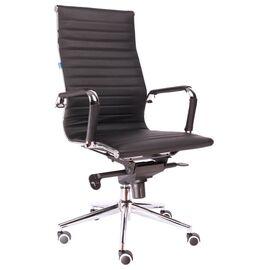 Компьютерное кресло для руководителя Everprof Rio M кожа черный, Цвет товара: Черный