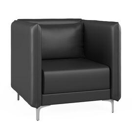 Кресло низкое Графит Н Euroforma (ШхГхВ - 88x91x84 см.)