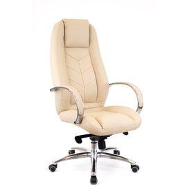 Компьютерное кресло для руководителя Everprof Drift Full AL M кожа бежевый, Цвет товара: Бежевый