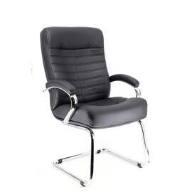 Офисное кресло для посетителей Everprof Orion CF экокожа черный