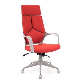 Компьютерное кресло для руководителя Everprof Trio Grey TM Ткань Красный, Цвет товара: Красный