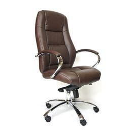Компьютерное кресло для руководителя Everprof Kron M кожа коричневый, Цвет товара: Коричневый