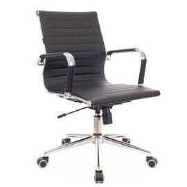 Компьютерное кресло Everprof Leo T экокожа черный, Цвет товара: Черный