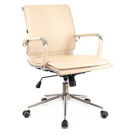 Компьютерное кресло Everprof Nerey LB T Бежевая экокожа, Цвет товара: Бежевый