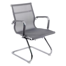 Офисное кресло для посетителей Everprof Opera CF сетка серый, Цвет товара: Cерый