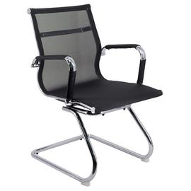 Офисное кресло для посетителей Everprof Opera CF сетка черный, Цвет товара: Черный