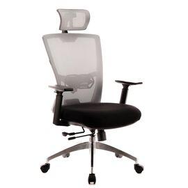 Компьютерное кресло для руководителя Everprof Polo S сетка серый, Цвет товара: Серый