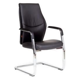 Офисное кресло для посетителей Chairman Vista V эко Черный, Цвет товара: Черный