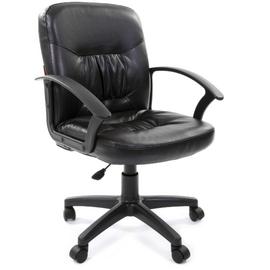 Компьютерное кресло Chairman 651 ЭКО черное матовое, Цвет товара: Черный