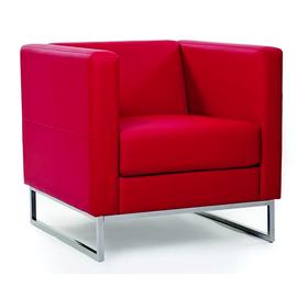 Кресло Chairman Дюна (ШхГхВ 715х730х700 ) красный, Цвет товара: Красный