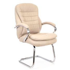 Офисное кресло для посетителей Everprof Valencia CF экокожа бежевый, Цвет товара: Бежевый