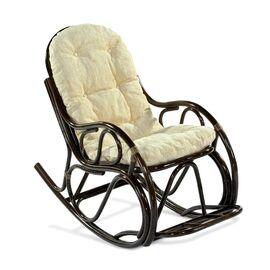Кресло-качалка с подножкой 05-17 Б (подушка Ткань шенилл) EcoDesign