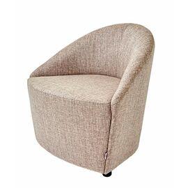 Кресло стационарное 3D Euroforma Бежевая рогожка (ШхГхВ - 97х65х71 см.), Цвет товара: Бежевый