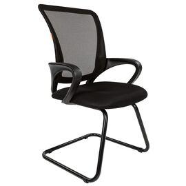 Офисное кресло для посетителей Chairman CH 969 V Ткань/сетка TW (черный) 580x560x990, Цвет товара: Черный