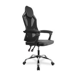 Кресло для геймеров College CLG-802 LXH Black, Цвет товара: Черный