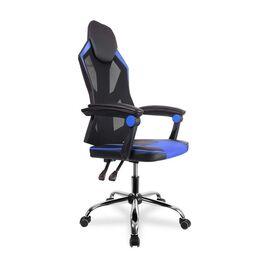Кресло для геймеров College CLG-802 LXH Blue, Цвет товара: Синий