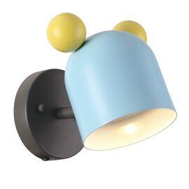 Бра Mickey голубой Odeon Light, Цвет товара: Голубой