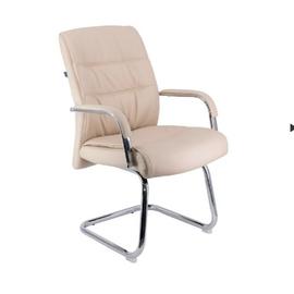 Кресло-конференц Everprof Bond CF Экокожа Бежевый, Цвет товара: Бежевый