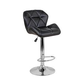 Барный стул Алмаз WX-2582 Экокожа Черный Ecoline, Цвет товара: Черный