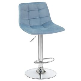 Барный стул LM-5017 пудрово-голубой DOBRIN, Цвет товара: пудрово-голубой