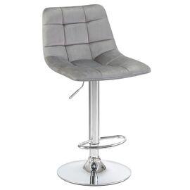 Барный стул LM-5017 серый DOBRIN, Цвет товара: Серый