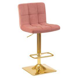 Барный стул LM-5016 пудрово-розовый DOBRIN, Цвет товара: Пудрово-розовый
