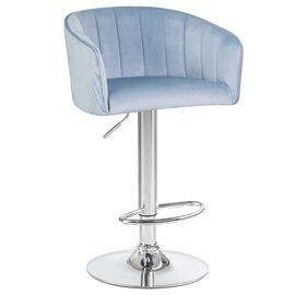 Барный стул LM-5025 серо-голубой DOBRIN, Цвет товара: серо-голубой